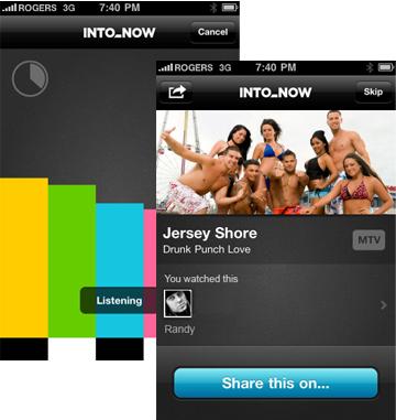 IntoNow iPhone App