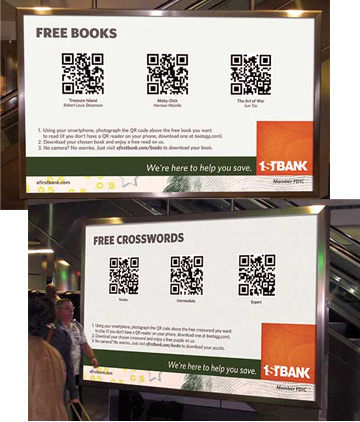 First Bank QR Codes