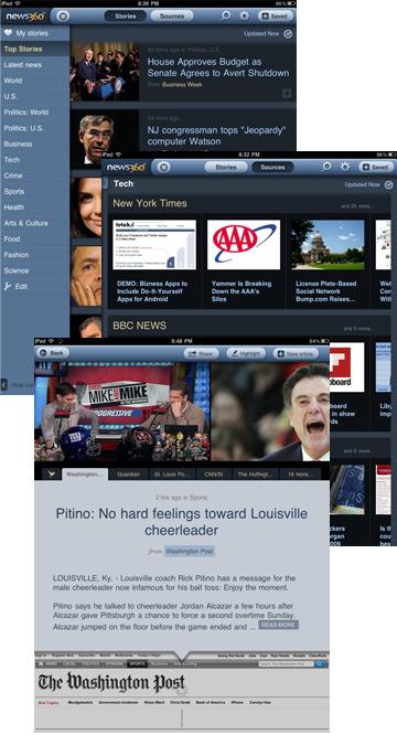 News360 iPad App