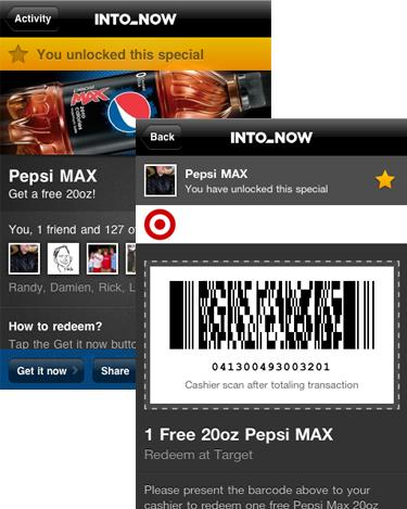 Pepsi MAX promo