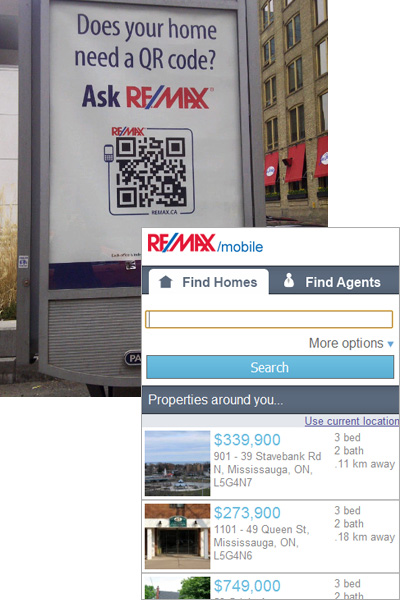 Re-Max Sign - Could Your House Use a QR Code?