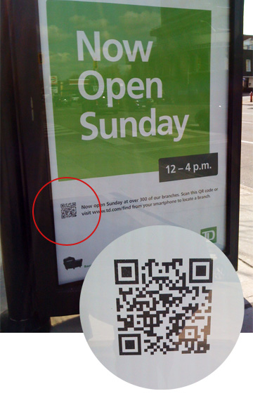 TD Bank - Open Sunday Transit Shelter