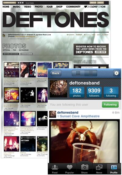 Deftones Instagram Contest
