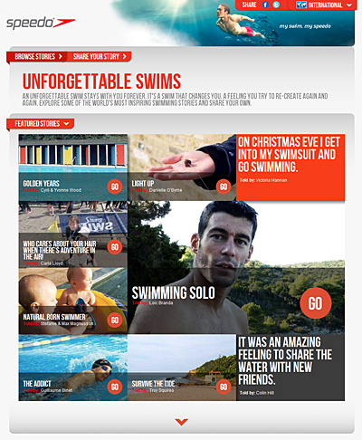 Speedo Unforgettable Swims