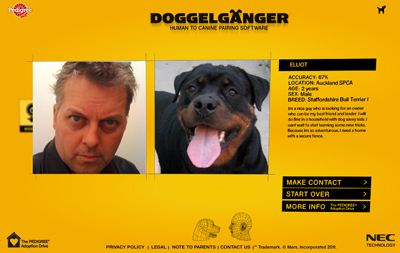 The Pedigree Adoption Drive - Doggelganger