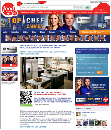 Top Chef Canada - Win a GE Kitchen