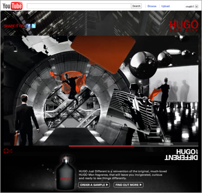 Hugo Boss YouTube Just Different