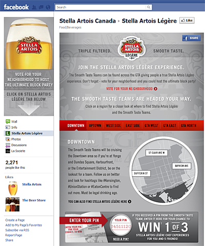 Stella Artois Légère - Neighbourhood Party