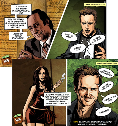 Breaking Bad - The Cost of Doing Business Graphic Novel Game