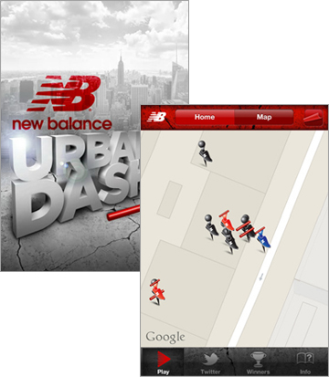 New Balance - Urban Dash Augmented Reality Game