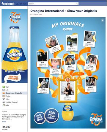 Orangina Facebook Originals