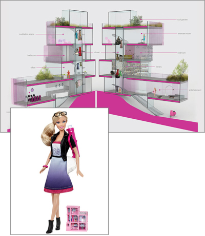 Architect Barbie - AIA Barbie Dream Home Competition