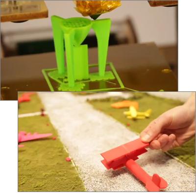 GE Airshow - Maketbot 3D Printing