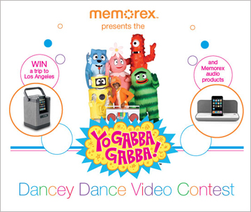 Yo Gabba Gabba! host Memorex 50th Birthday on UStream