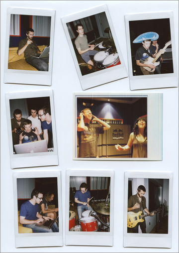 Polaroid - Tokyo Police Club 10 Covers
