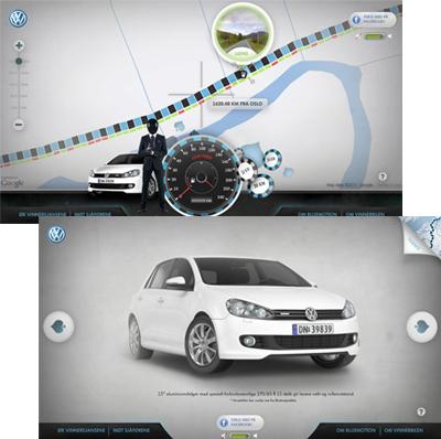 Volkswagen Bluemotion Roulette