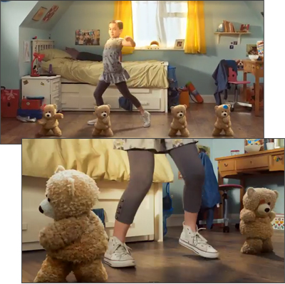 Weetabix Chocolate Spoonsize 'Dancer' TV ad