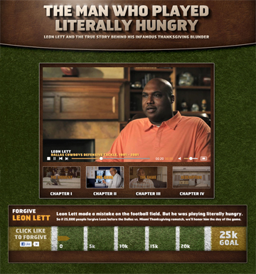 Snickers - The Man Who Played Literally Hungry