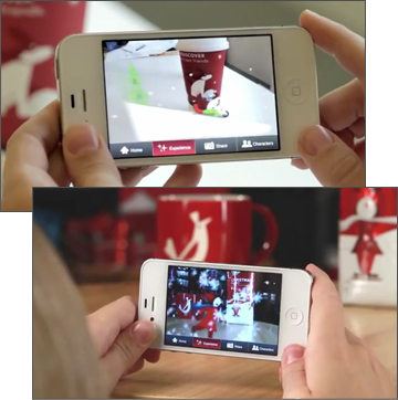 Starbucks Cup Magic - Augmented Reality