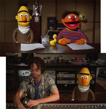 Ernie and Bert voices now available on Tom Tom