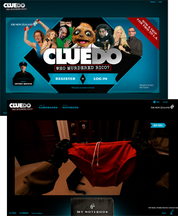 Air New Zealand - Cluedo: Who Killed Rico?