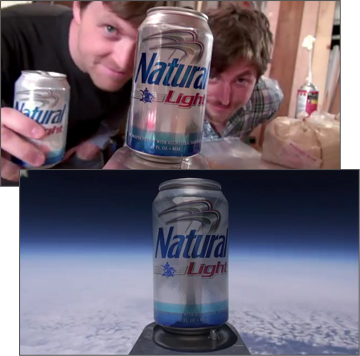 Natural Light becomes first beer in space