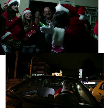 Coca-Cola Plays Santa to Bogota Cabbies on Christmas Eve