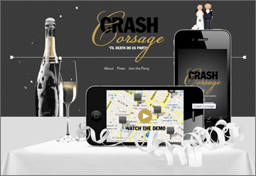 Crash Corsage Mobile App