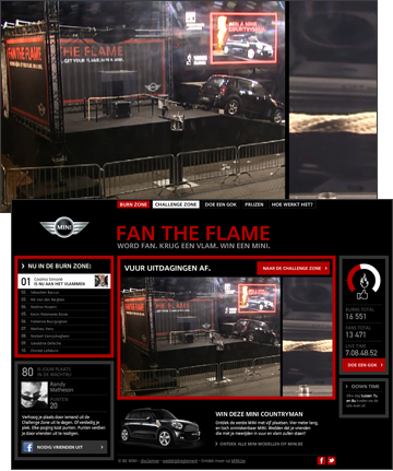 MINI Belux - Fan the Flames