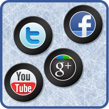 Which team leads the NHL in Social Media?