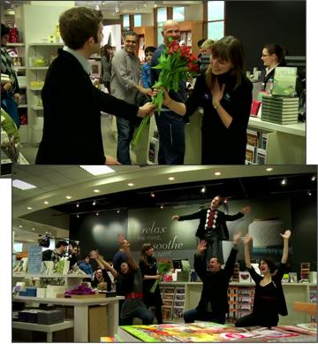Indigo Valentine's Flash Mob