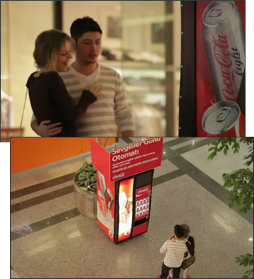 Coca-Cola Happiness Machine for Couples
