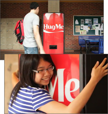 Coca-Cola Hug Me Machine