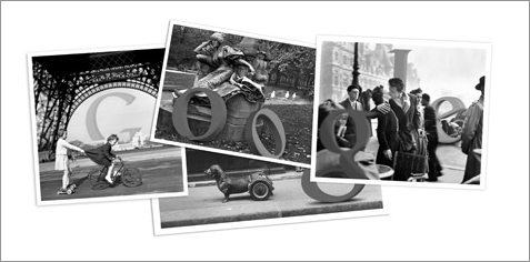 Google Doodle April 14 Robert Doisneau