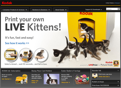 Kodak - Print Your Own Live Kittens