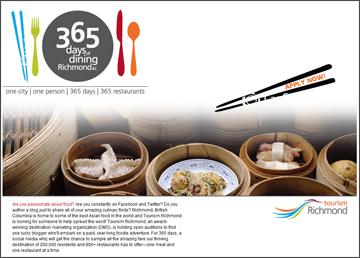 Richmond, BC - 365 Days of Dining