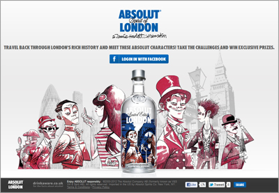 Jamie Hewlett Creates Characters to Life for Absolut Spirit of London