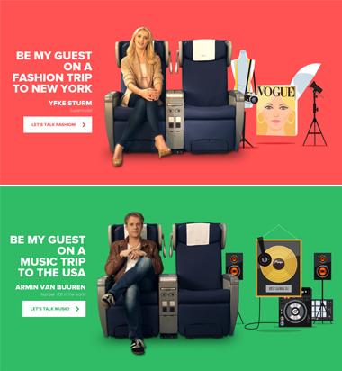 KLM Meet & Seat program