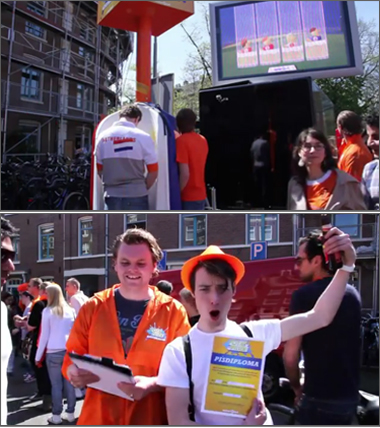Waternet launches Piss Off game in Amsterdam