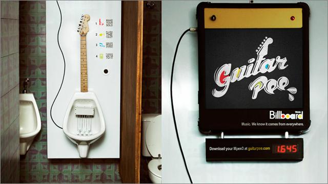 Billboard Brazil Guitar Pee