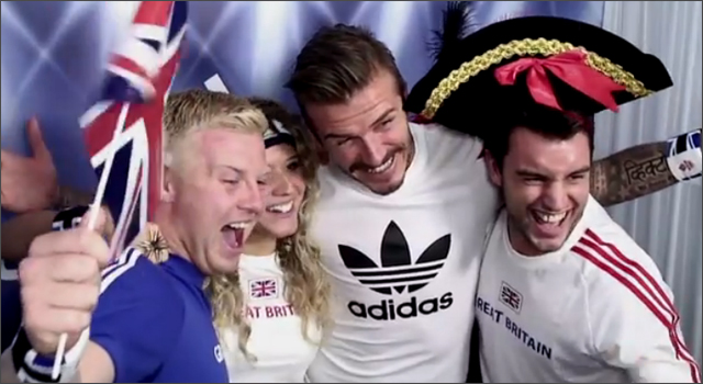 Adidas David Beckham Photobooth