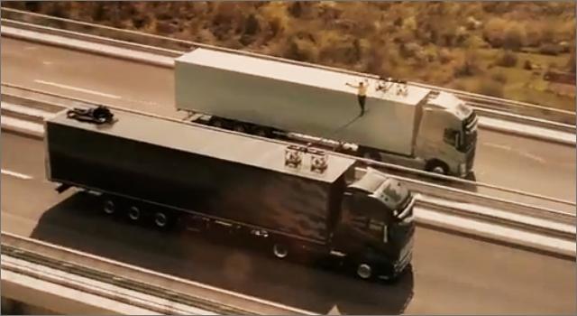 Volvo FH trucks - Slackliner
