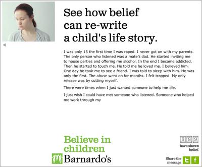 Barnardo's Believe