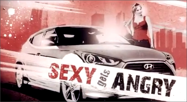 Hyundai Australia 'Sexy Gets Angry'
