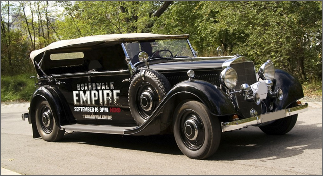 Uber Vintage Rides - Boardwalk Empire
