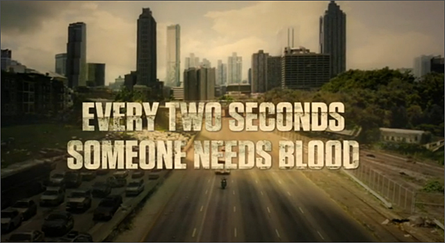 The Walking Dead & American Red Cross - Use Your Brains. Give Blood.