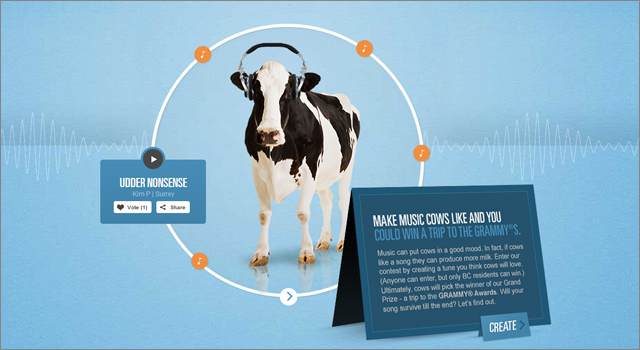 BC Dairy Association - Music Makes More Milk