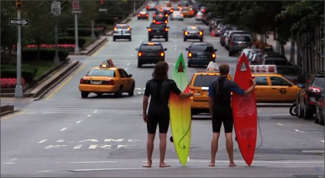 Chasing Mavericks - Surfing NYC