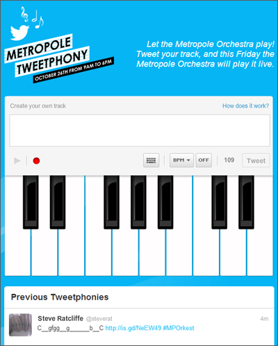 Metropole Tweetphony