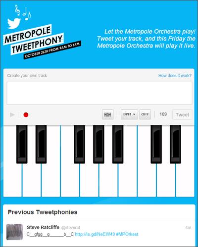 Metropole Tweetphony